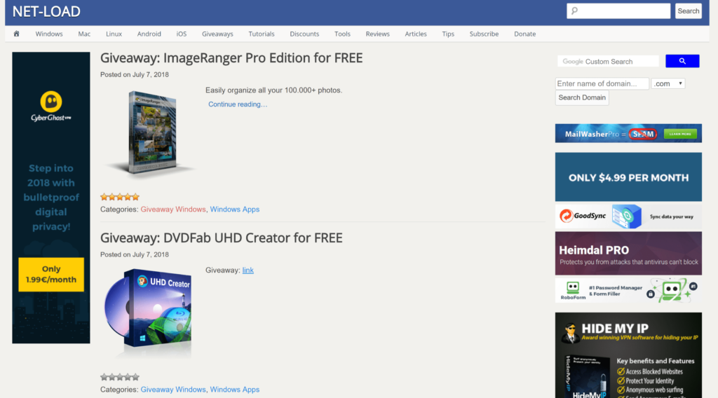 Top 10 websites download paid software for free - Net-load