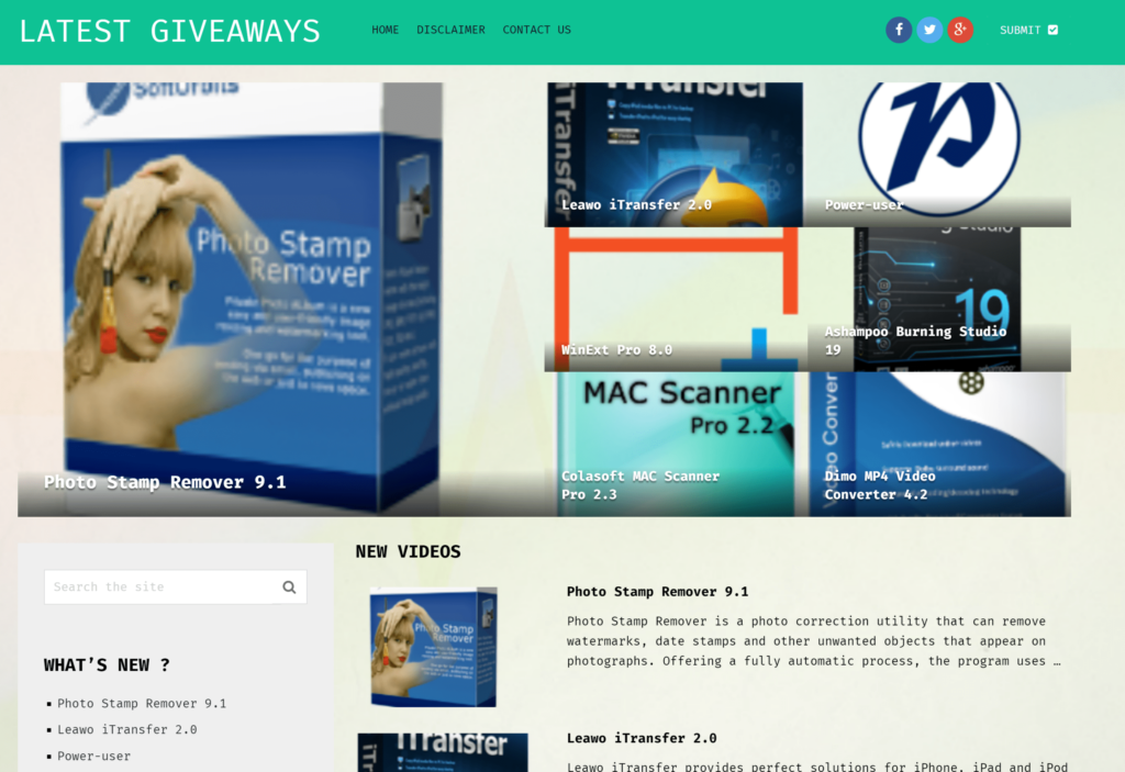 latestgiveaways | Giveaway Software 2019