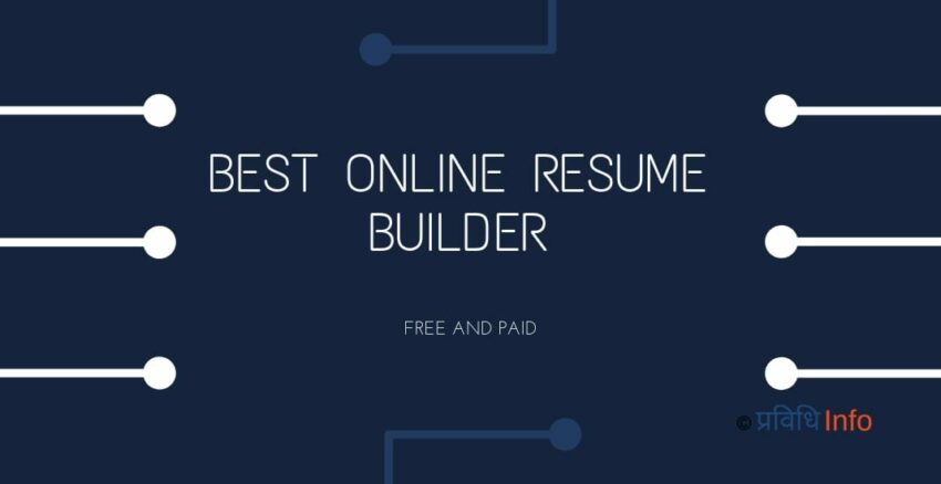 Best online free resume builder
