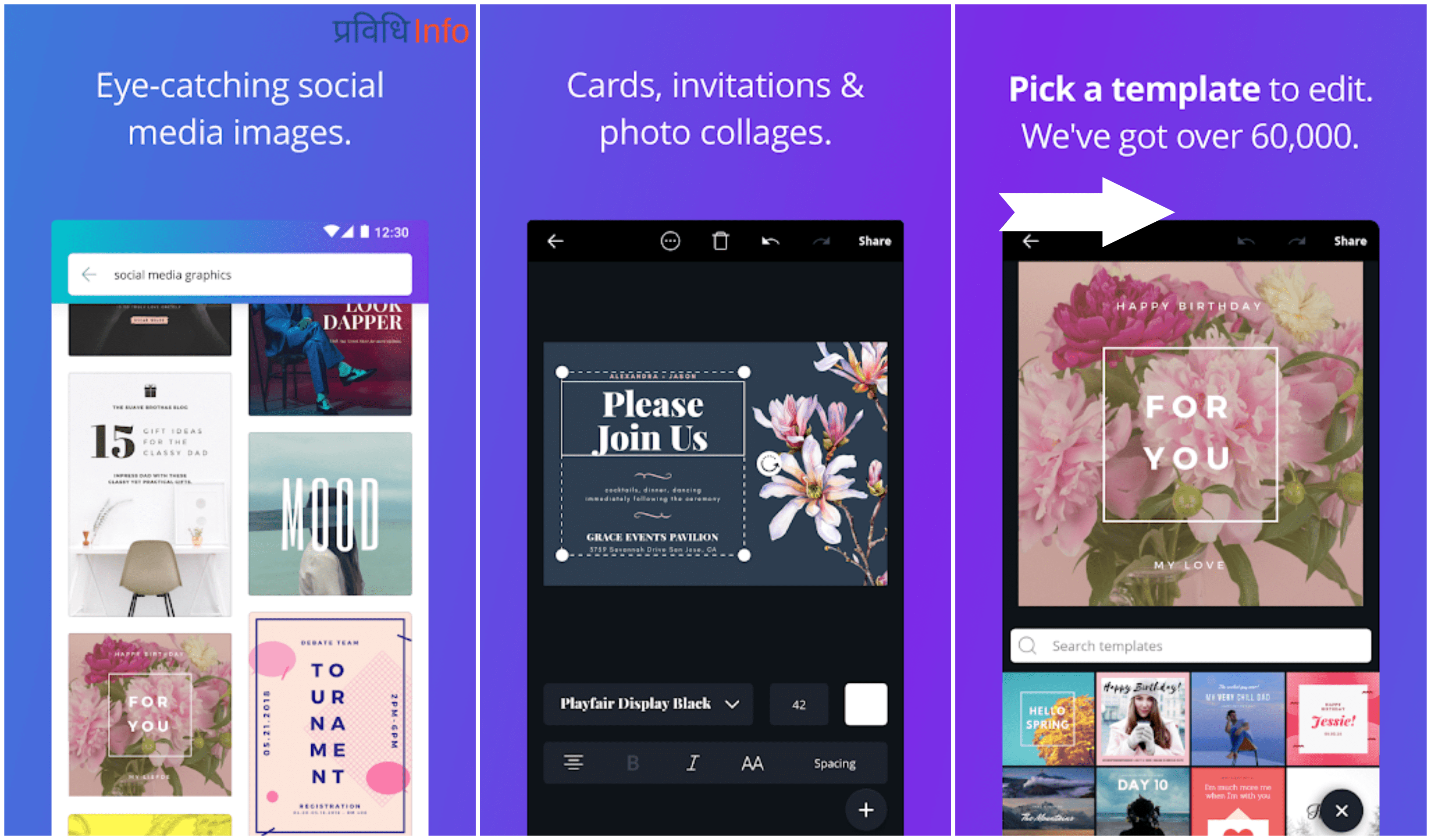 Canva - Top 10 Unique & Best Free Android Apps – February 2019