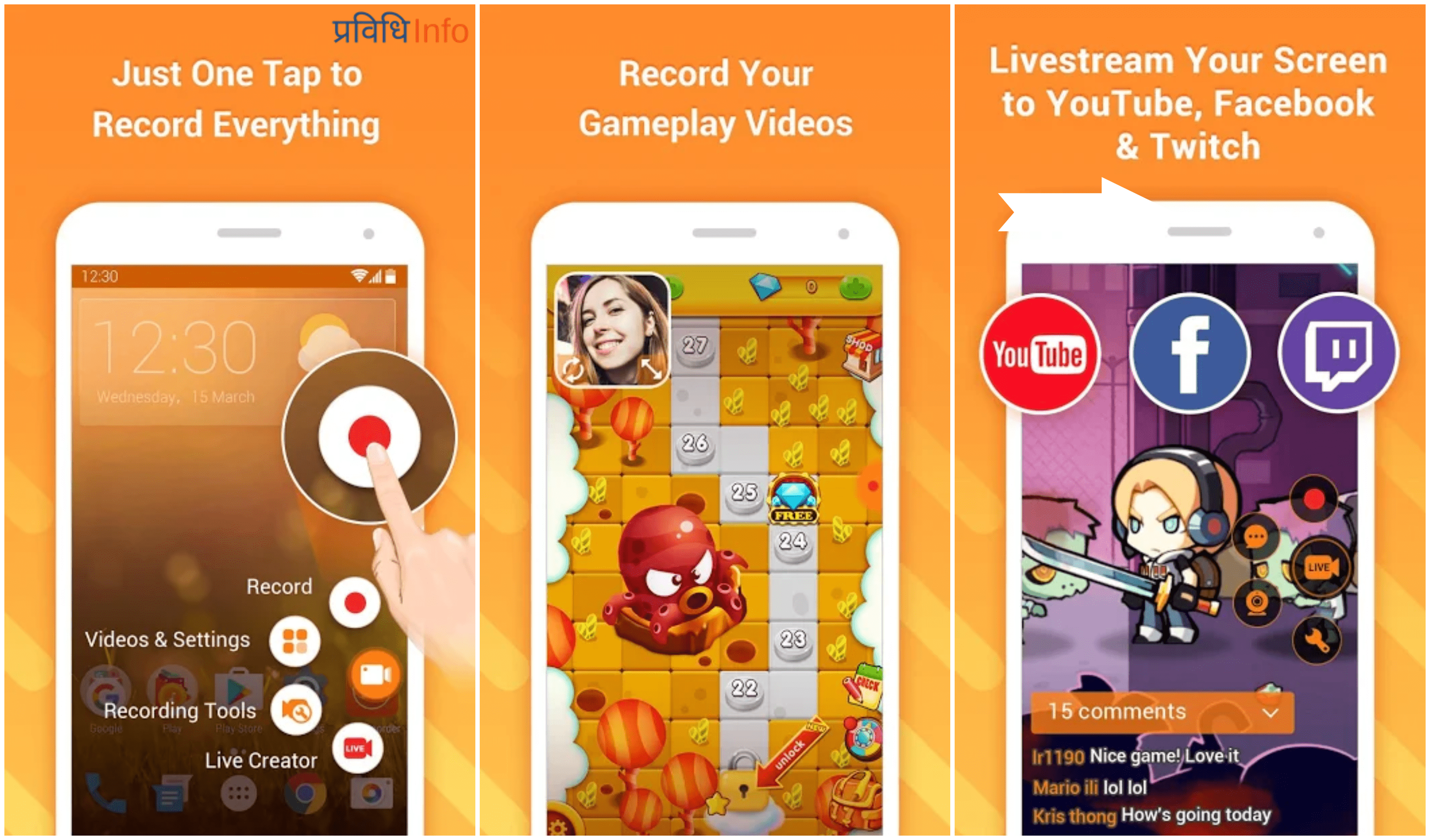 DU Recorder - Top 10 Unique & Best Free Android Apps – February 2019
