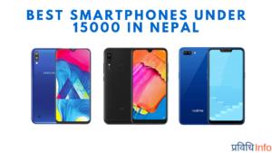 Best Smartphones under Rs 15000 in Nepal