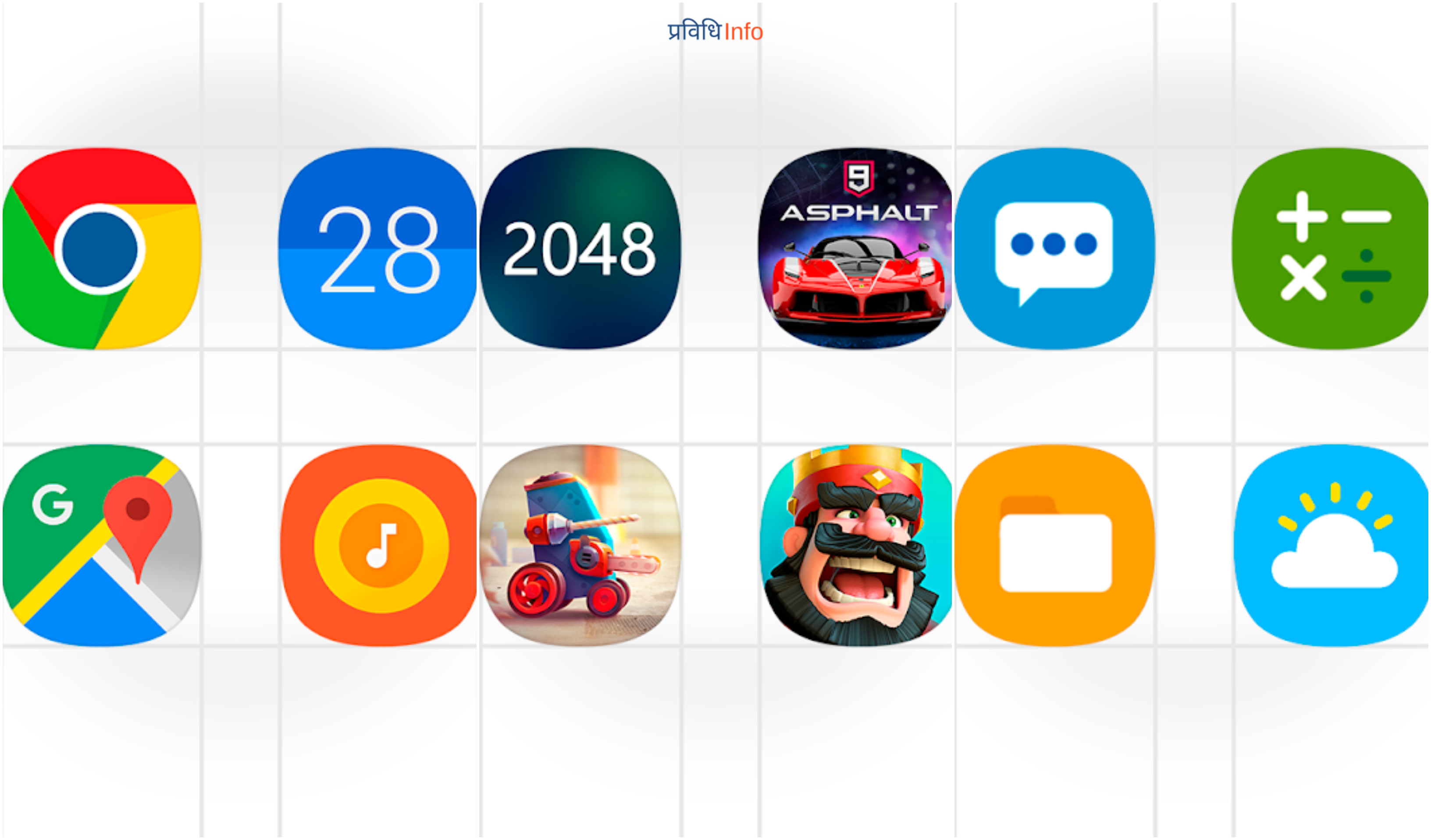 OneUI Icon pack TOP 10 UNIQUE & BEST ANDROID APPS - APRIL 2019 LIST