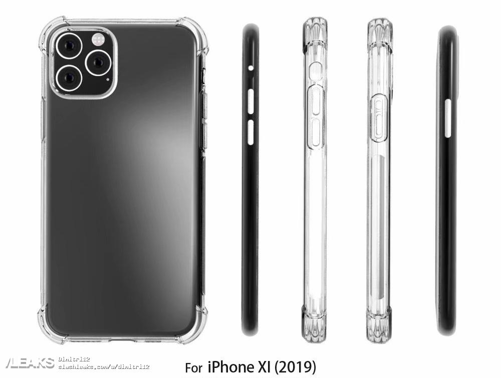 iPhone 11 Case render leaks