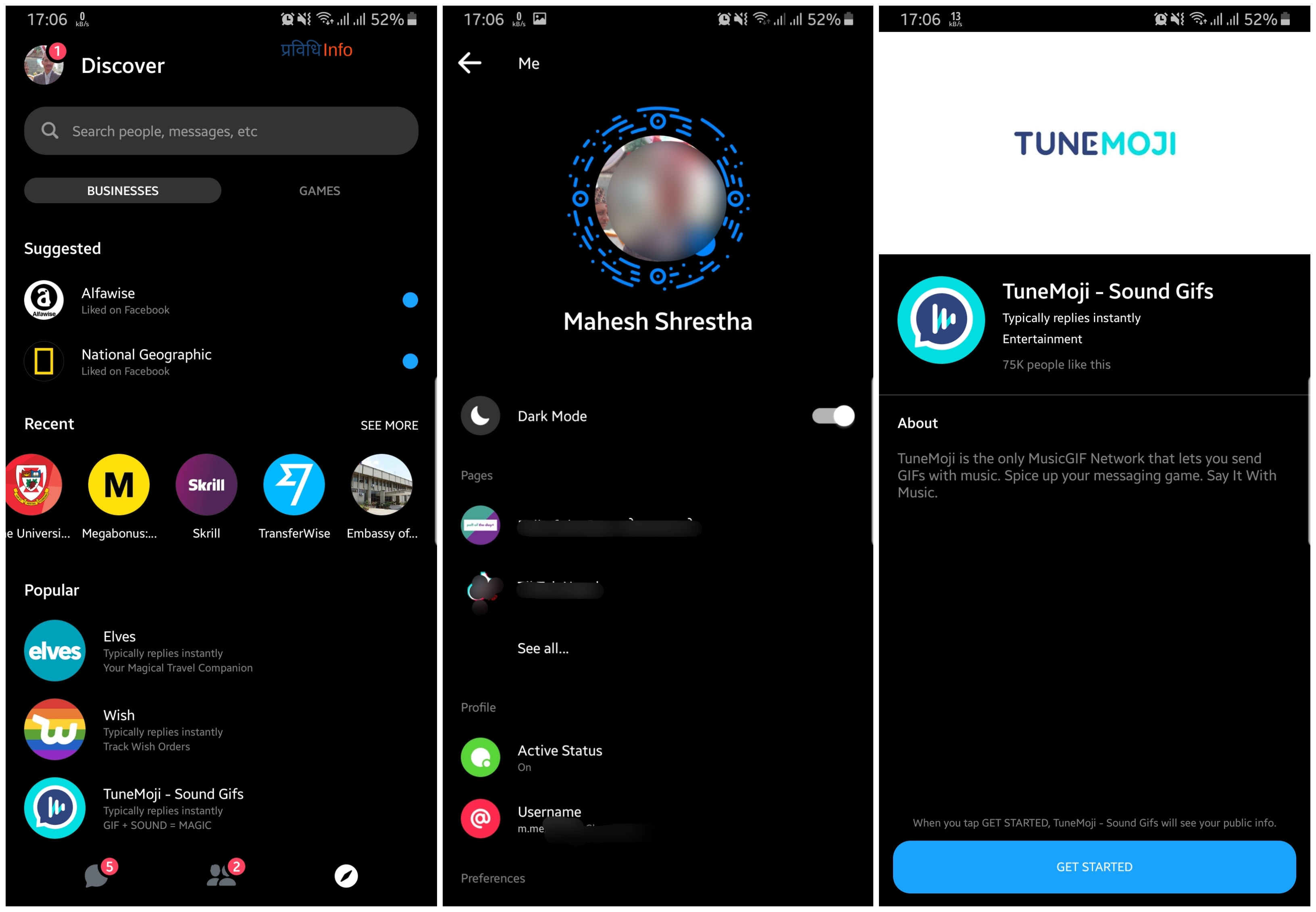 Facebook Messenger How to enable Dark Mode Apps on Android