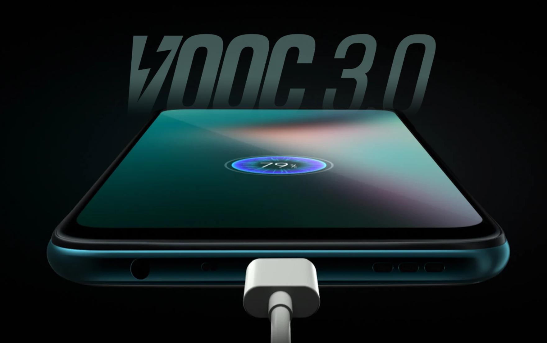 Oppo k3 vooc charging