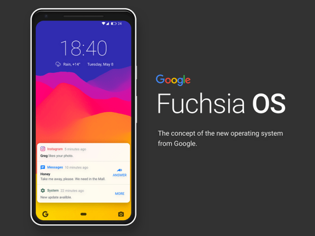 WIll Fuchsia OS replace android