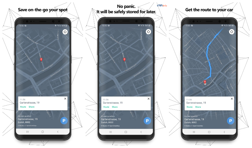 Forget Where you Parked Top unique apps August 2019