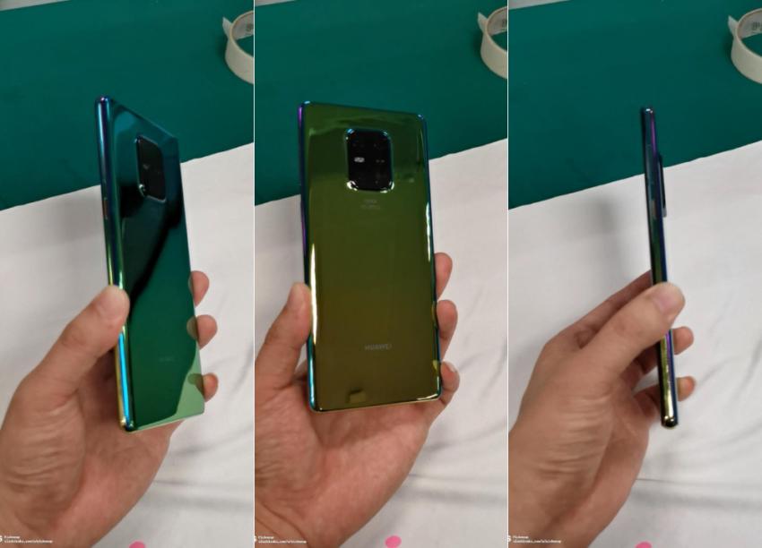 Huawei Mate 30 5 rear camera leak