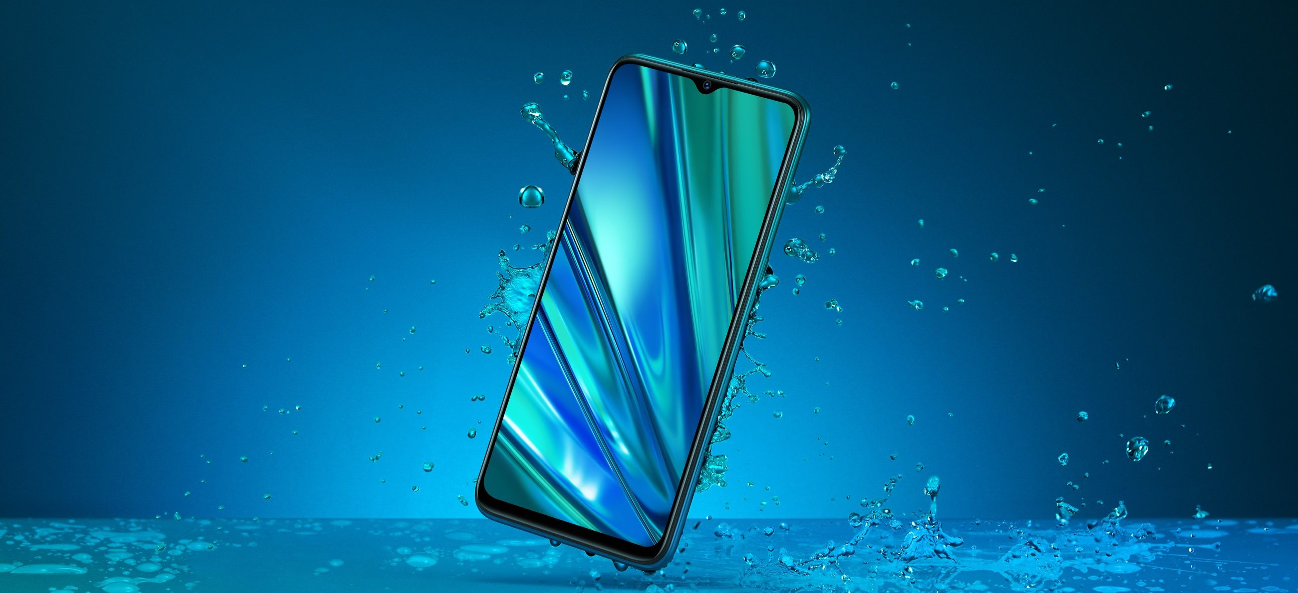 Realme 5 Pro Splash Resistant