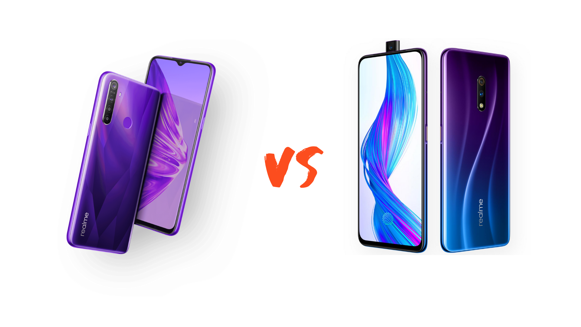 Realme 5 Pro vs Realme X Comparison