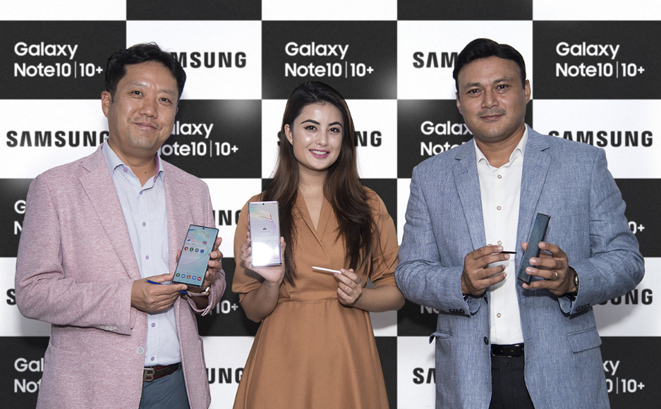 Samsung galaxy Note 10 and Note 10 Plus Price in Nepal