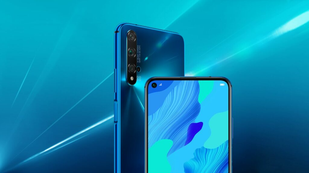 Huawei Nova 5T Blue color nepal