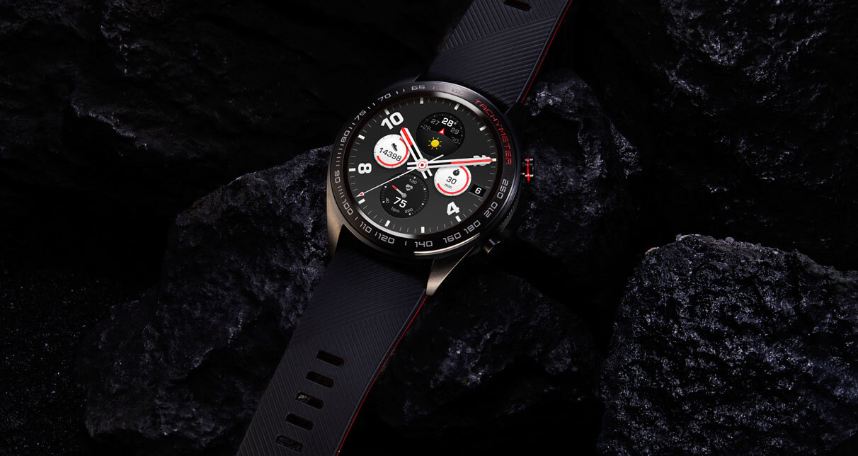 Lava Black Color Honor Watch Magic