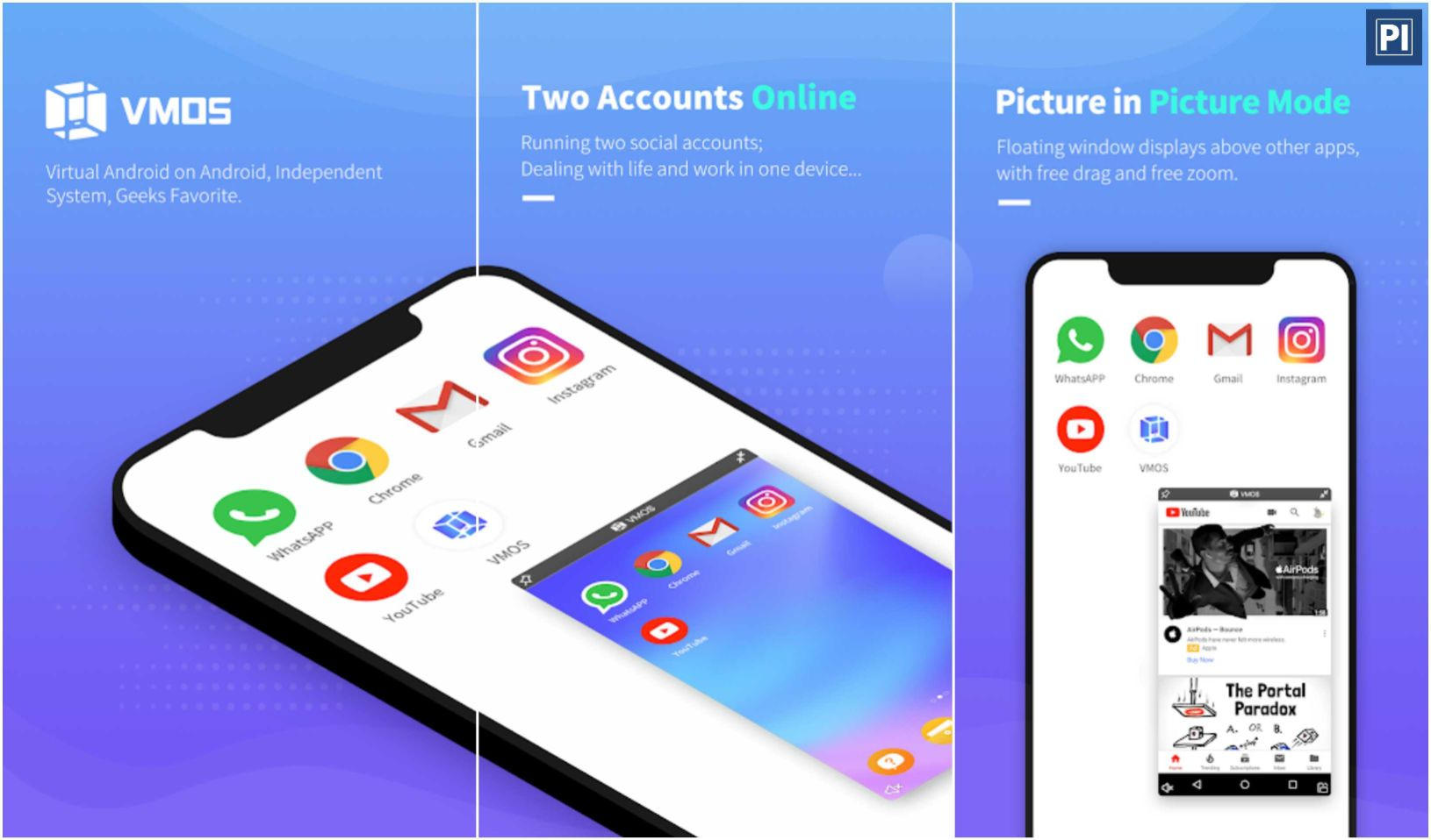 VMOS Top 10 Unique & Best Free Android Apps – October 2019