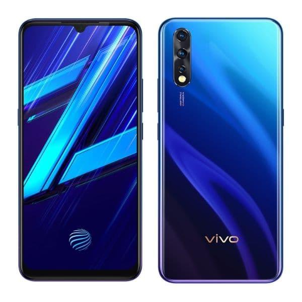 vivo z1x display and design