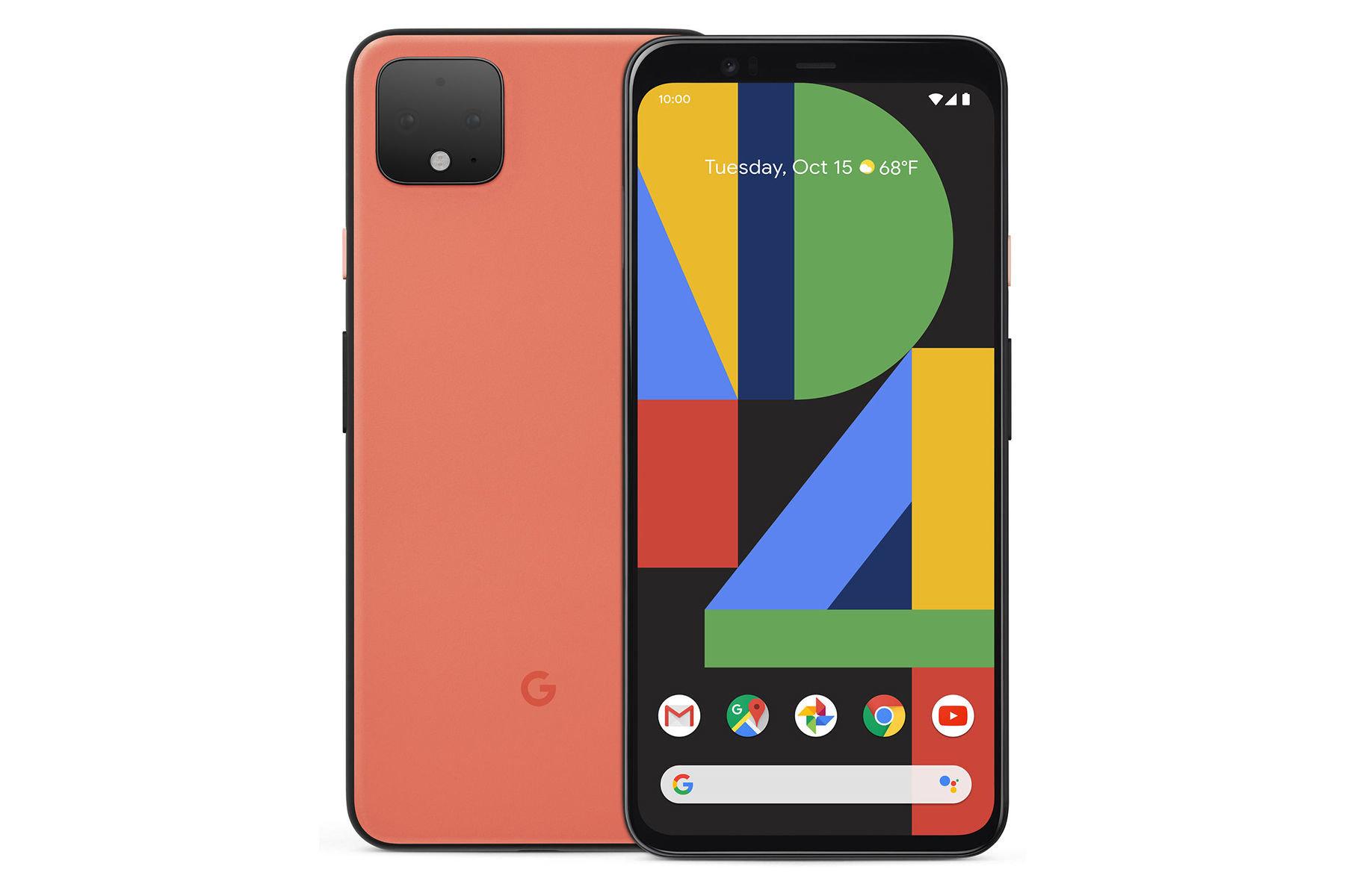 google-pixel-4-xl-design-display