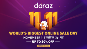 Daraz 11.11 2019 Discount on Online Payment via Bank Card