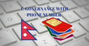 Digital Nepal e-governance with phone number Nepal