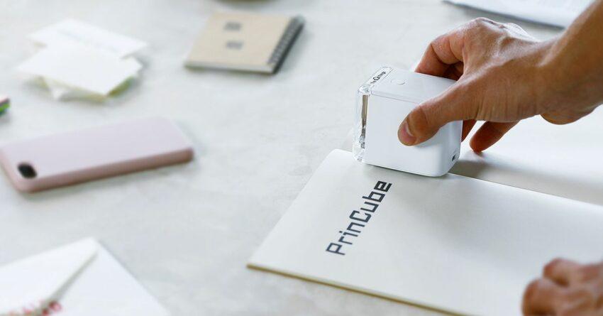 PrinCube, Handheld Mobile Colorful Printer