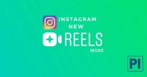 Instagram reel mode