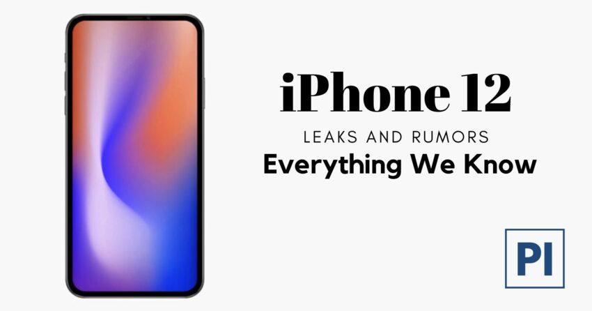 iPhone 12 leaks and rumors