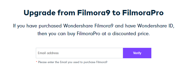 upgrade filmora9 to filmora pro