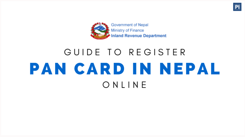 How to apply or register PAN Card in Nepal online. e-PAN