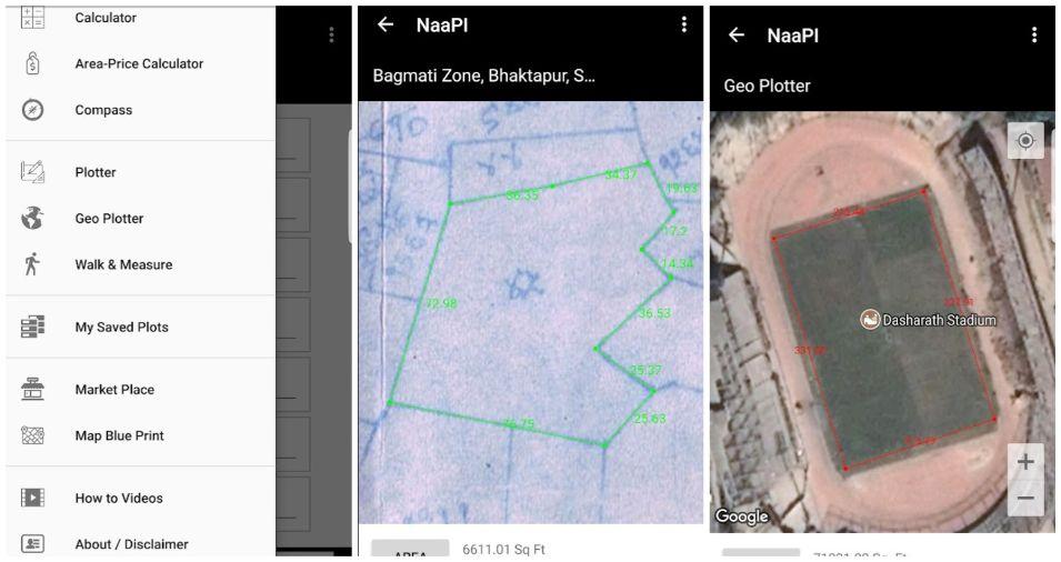 NaaPI app