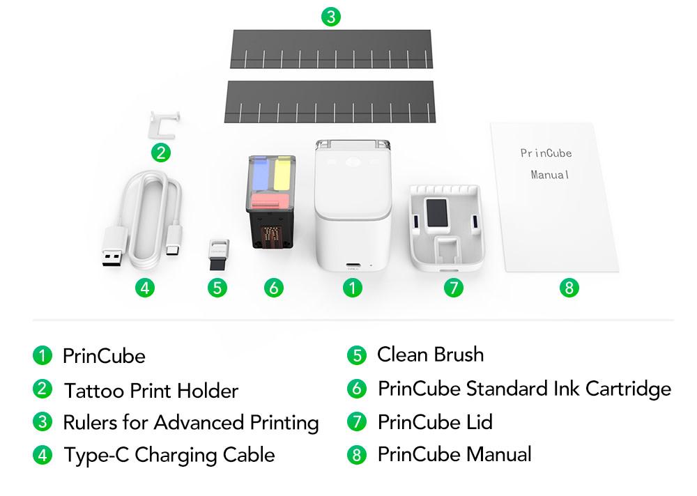 PrinCube Handheld Printer: What's Inside the Box