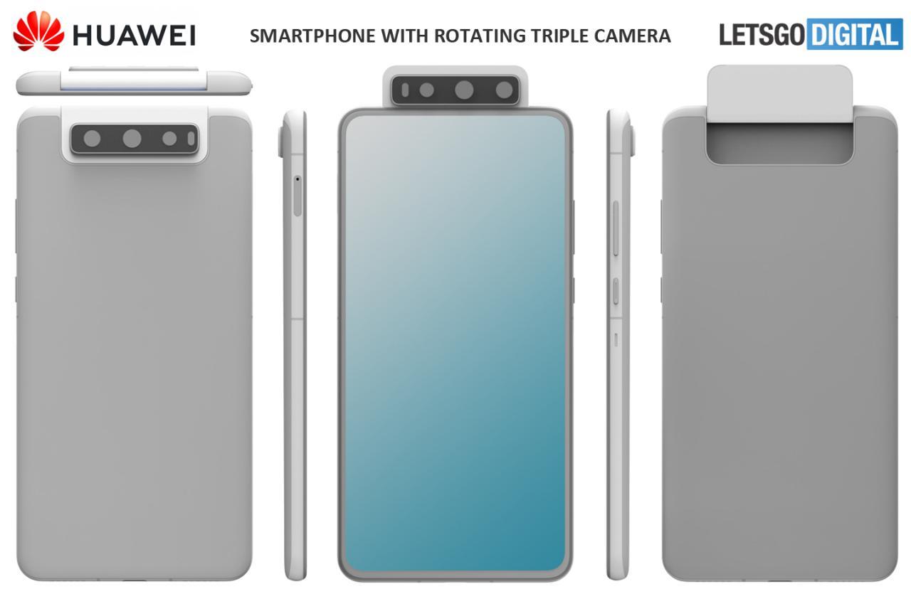 huawei triple rotating camera smartphone