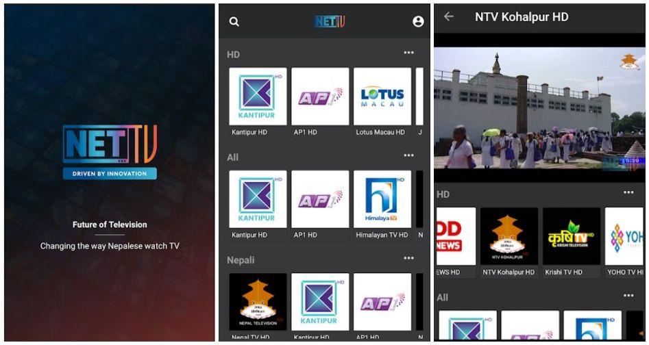 nettv aplication