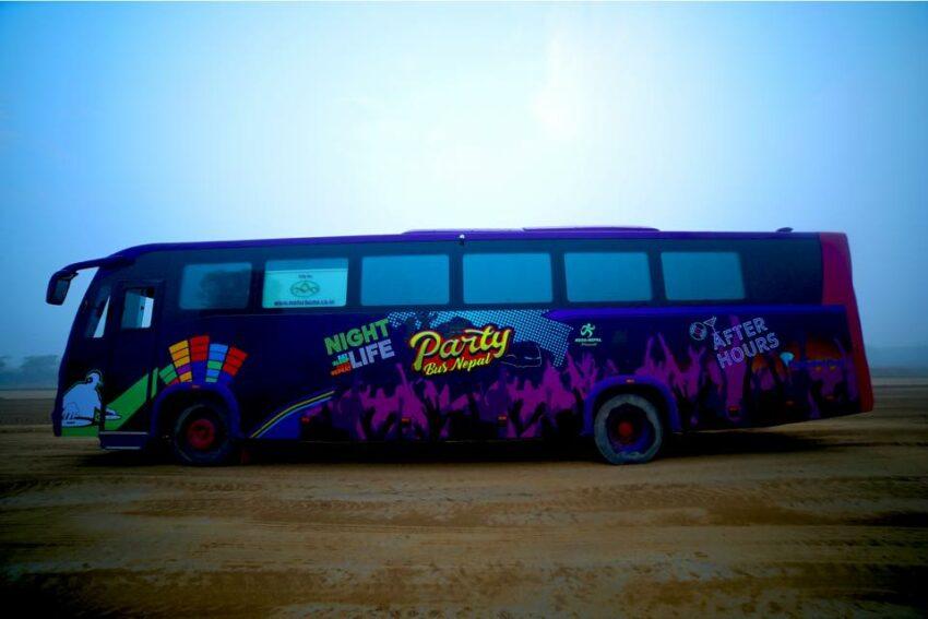 party bus nepal price