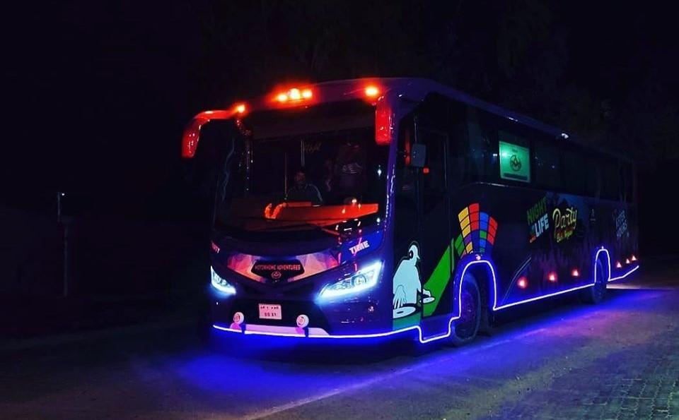 party-bus-nepal-night-lights