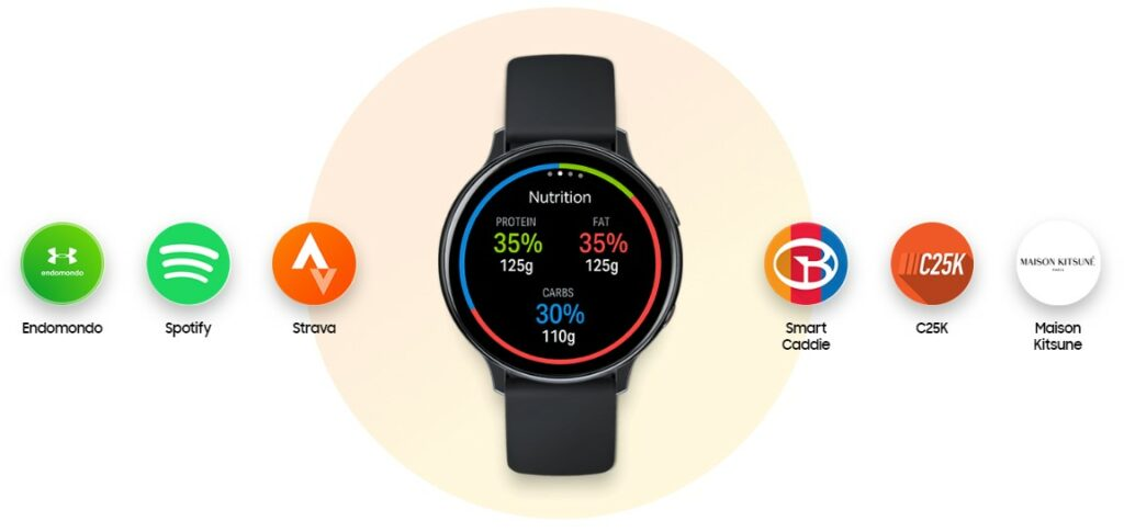 samsung galaxy watch active 2 apps