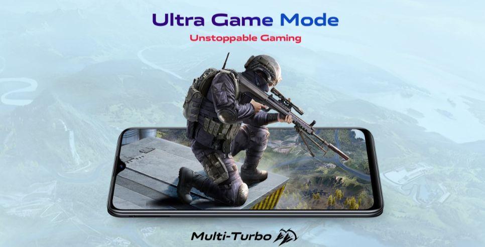vivo u20 ultra game mode
