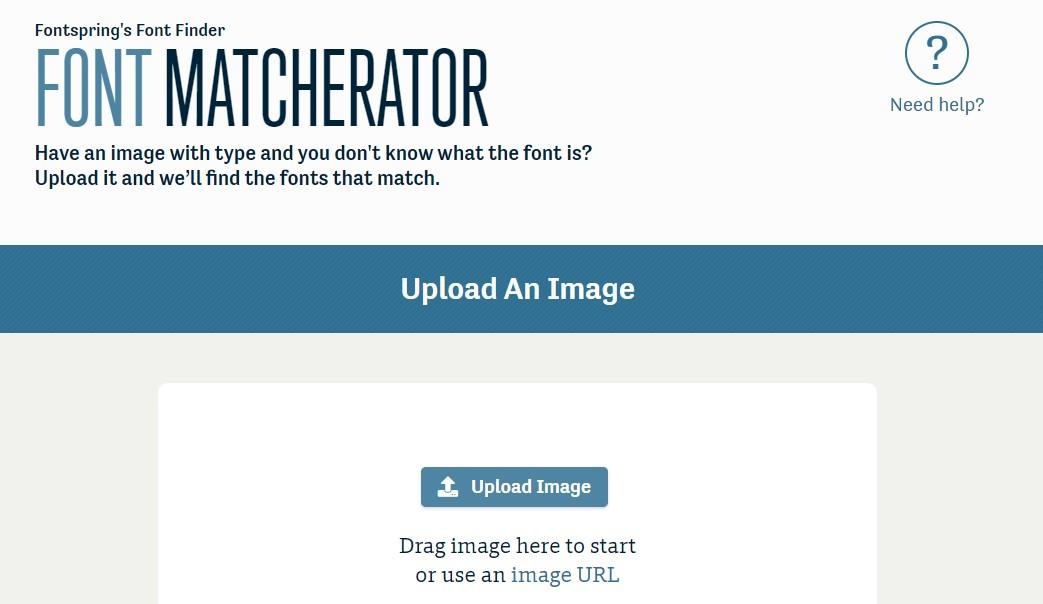 Font spring Matcherator