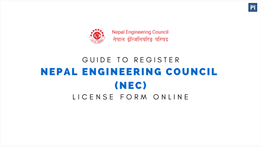 How to Register Nepal Engineering Council (NEC) License Form Online