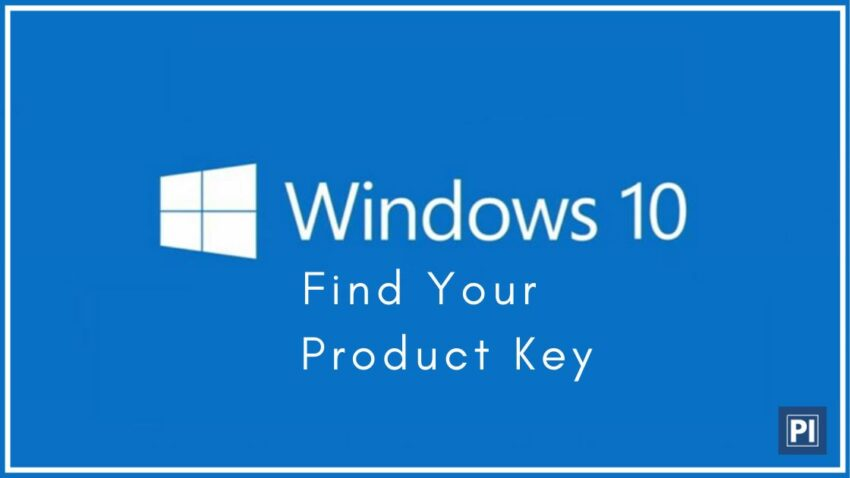 How to find Windows 7-8-10 Product Key using CMD, PowerShell, Windows Registry