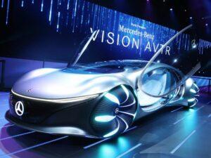 Mercedes Vision AVTR concept car CES 2020