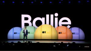 Samsung Ballie hom-companion robot at CES 2020