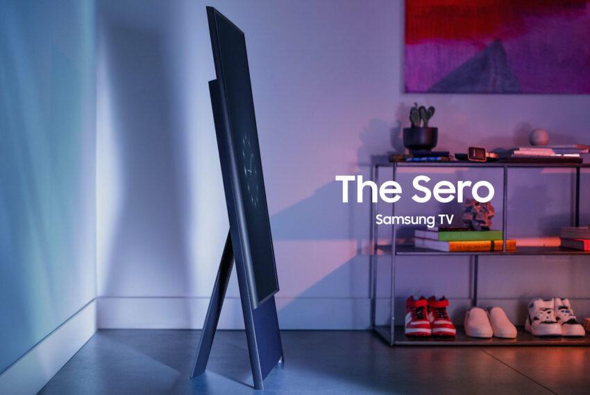 Samsung The Sero Rotating TV