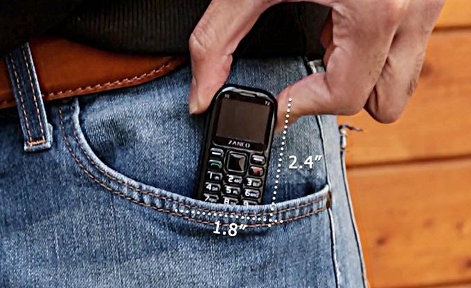 Zanco Tiny T2 fits right into your smaller pocket