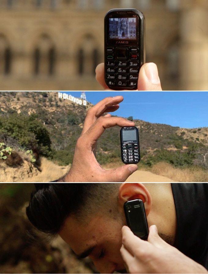 Zanco Tiny T2, world's smallest Phone for $130 Price kickstarter