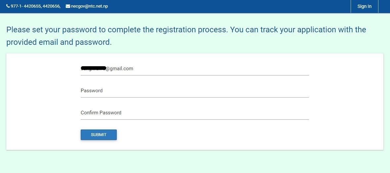 engeineering license registration