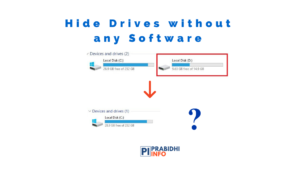 how to hide drives using cmd and disk management