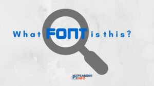 how to identify fonts used in images