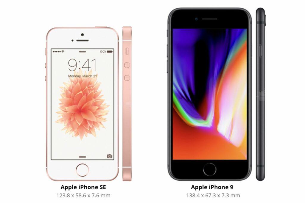 Apple-iPhone-9-vs-iPhone-8-Design