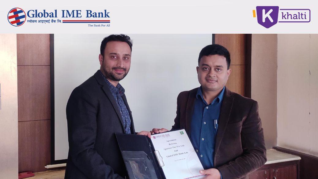 Global IME Khalti partnership