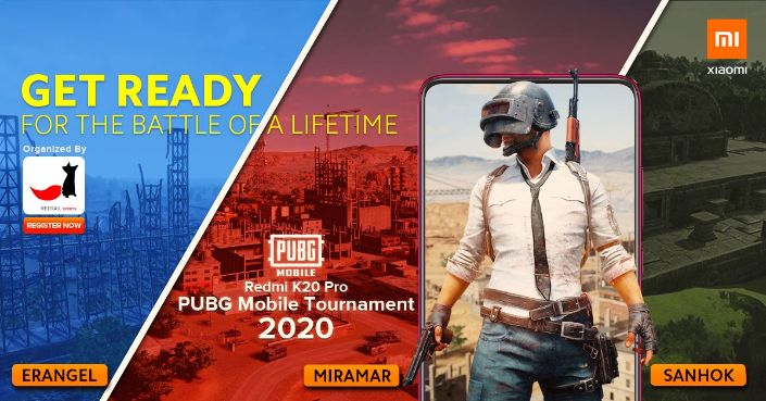 How to register Redmi K20 Pro PUBG Mobile Tournament 2020 Nepal